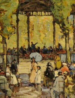 Concert au Jardin du Luxembourg, Paris