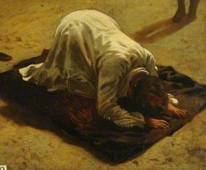 An Arab at Prayer