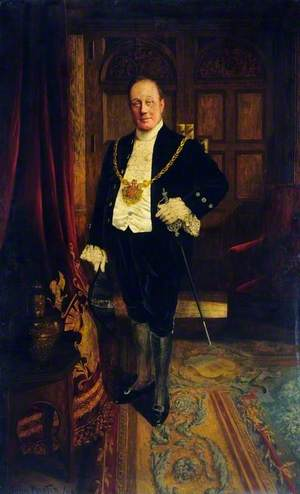 Alderman George Senior (d.1915), JP, Lord Mayor of Sheffield (1901)