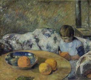 Intérieur avec Aline Gauguin