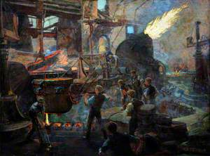 The Wealth of England, the Bessemer Process of Making Steel