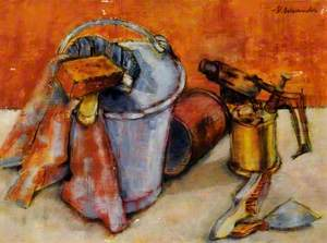 Still Life with a Blowlamp