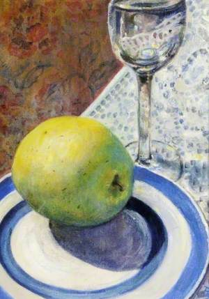 Still Life with a Golden Delicious