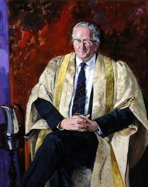 Professor Geoffrey Sims (b.1926), Vice-Chancellor of the University of Sheffield (1974–1991)