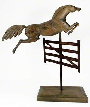 Leaping Horse Weathervane
