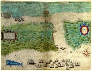 Plan of St Augustine, Florida
