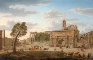 Hadrian's Arch, Rome