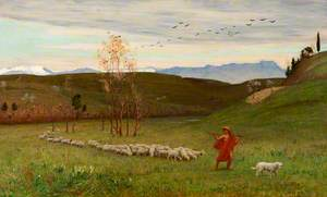 The Arcadian Shepherd and His Flock