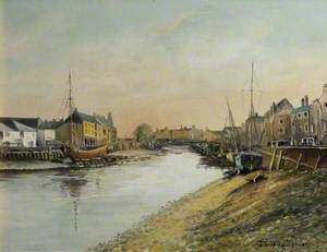 The Bridge and Quay, Bridgwater, 1906