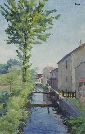 La Bièvre à Igny, France