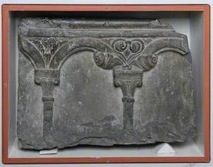 Panel from a Lavabo
