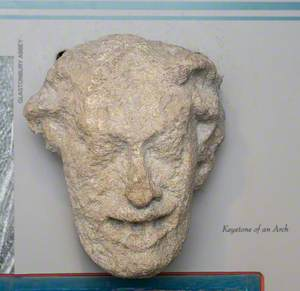Grotesque Head Keystone