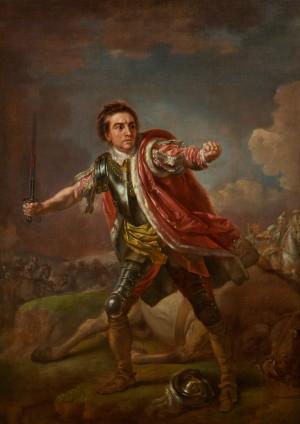 David Garrick as Gloucester in 'Richard III' by William Shakespeare, Drury Lane 1759