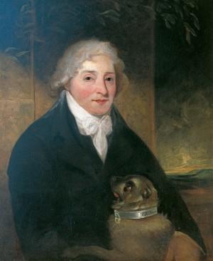 Venanzio Rauzzini (1747–1810), with His Dog 'Turk'