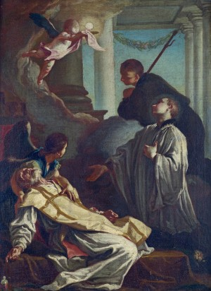 The Death of St Andrea Avellino