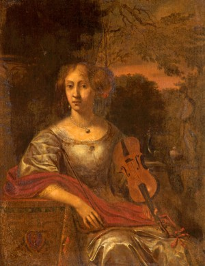 Lady with a Violin
