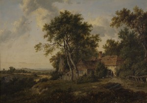 A Cottage among Trees