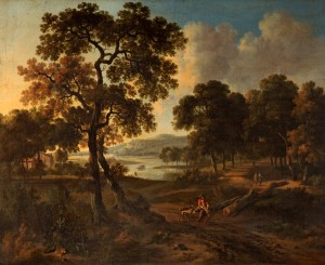Landscape with a Hunter