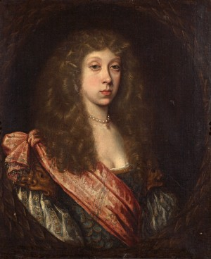 Portrait of an Unknown Lady in a Masque Costume
