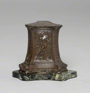 Pedestal with Bacchic Reliefs