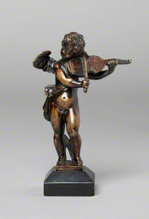 Putto Playing the Violin