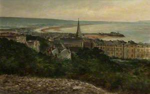 Weston-super-Mare from the Hill