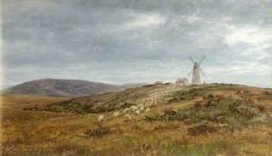 Landscape near Lewes, Sussex