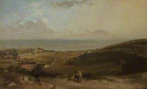 The Channel from Dover Cliffs