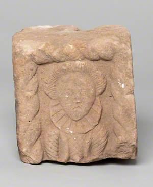 Female Figure (Architectural Fragment)