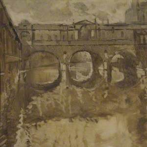 Pulteney Bridge, Bath from the South West