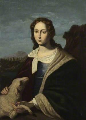 Saint Agnes and the Lamb
