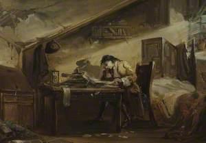 Thomas Chatterton (1752–1770), in His Garret