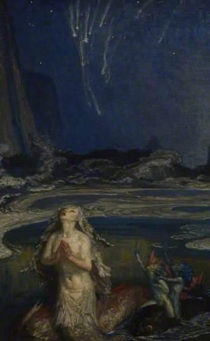 Mermaid and Sea