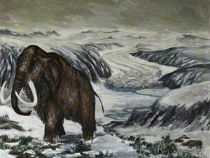 Mammoth in the Great Ice Age
