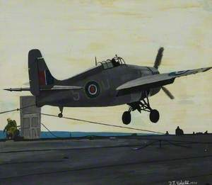 Wildcat on an Arrester Hook