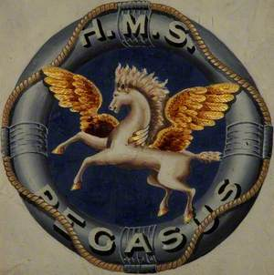 HMS 'Pegasus' Badge
