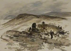 58 (Eyre's) Battery Royal Artillery (23 Bravo) Rapier Fire Unit with a DN 181 Radar, San Carlos Bay, Falkland Islands