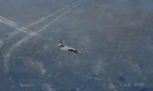Harrier Contrails