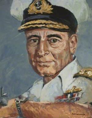 Admiral Sir Frank Hopkins (1910–1990), KCB, DSO, DSC, DD