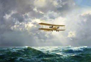 The First Non-Stop Atlantic Crossing, 1919