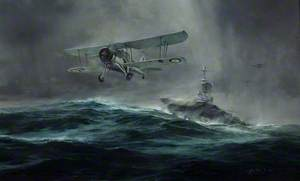 Launch against the 'Bismarck'