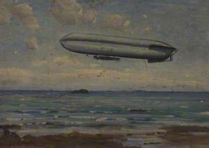HMA 'C15' over Bass Rock, Firth of Forth