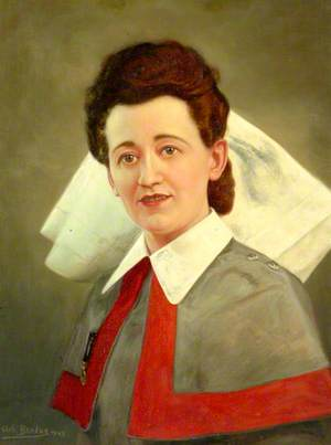 Queen Alexandra's Imperial Military Nursing Service (QAIMNS) Sister, Second World War