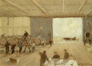Wellingtons in Hangar