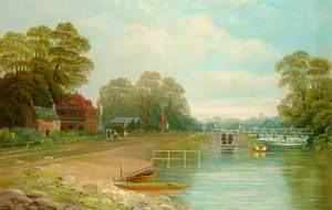 'Angler's Rest' and Bell Weir, Surrey