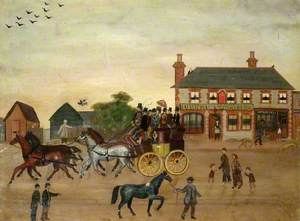 The Greyhound Public House, Caterham, Surrey