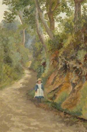 Young Girl in Punchbowl Lane (The Hollows)