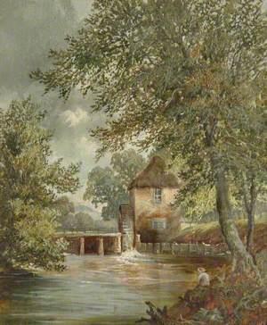 Old Castle Mill Pumping Station, Betchworth Castle Gardens, Dorking, Surrey