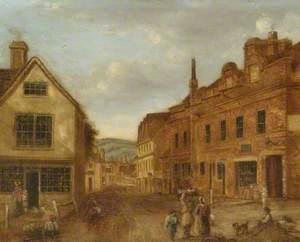 Pump Corner, 'Queen's Arms', West Street, Dorking, Surrey