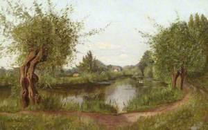 Willow Walk and Millpond, Dorking, Surrey